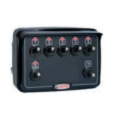 Caja de mando 7 vías