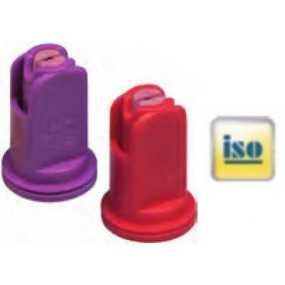 Boquilla cerámica antideriva 110° AFC ASJ - Naranja
