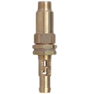 Agitador hidráulico de latón. Inyector Ø 1,5 mm