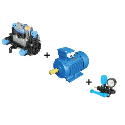 Grupo motobomba MINIPOLY 2020 motor eléctrico PBP