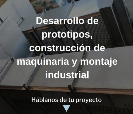 montaje industrial, soldadura, construcción de maquinaria